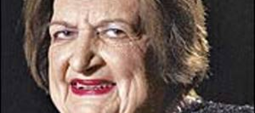 Quote of the Day from Helen Thomas, My Favorite Liberal