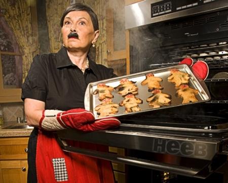 Roseanne Barr as Hitler