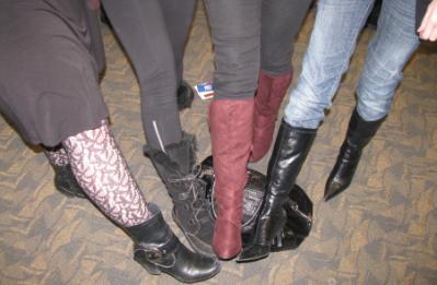 Boots: Tabitha Hale, Michelle Malkin, Kathleen McKinley, E.M. Zanotti