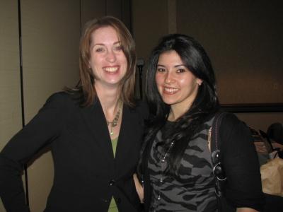 Liz Mair and Bettina Inclan