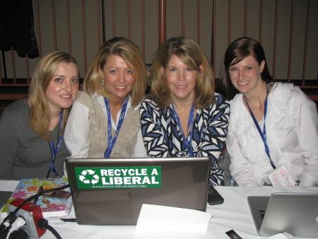 Smart Girl Politics: Jenny Erikson, Mommentator, Teri Christoph, Ashley Sewell