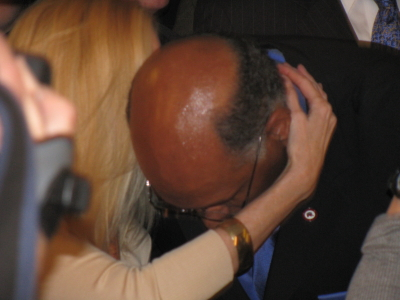 Ann Coulter and Michael Steele