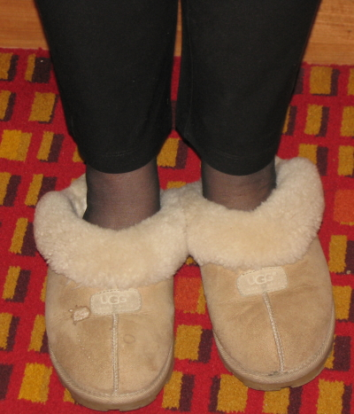 Melissa Clouthier's slippers