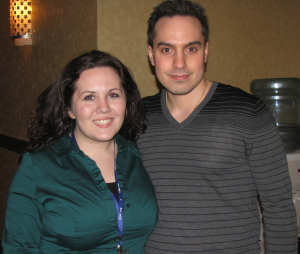 Tabitha Hale and Jason Mattera