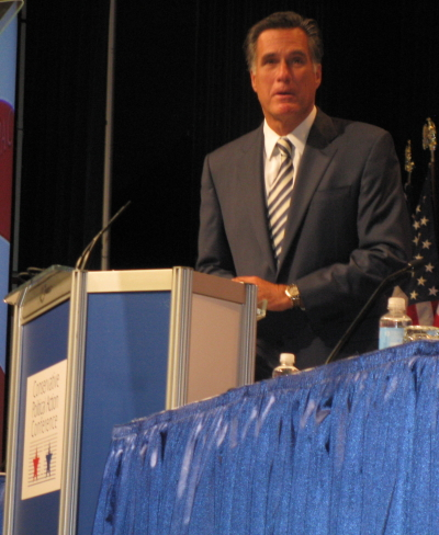 Mitt Romney at CPAC 10