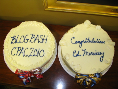 Blogbash cakes