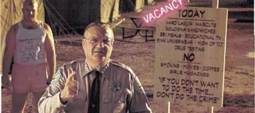 An Interview With America's Toughest Sheriff, Joe Arpaio