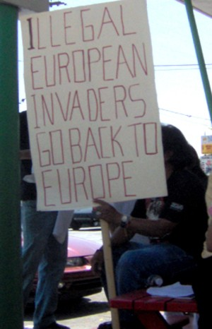 Illegal Protest