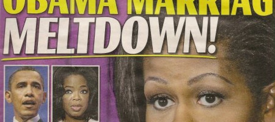 The Enquirer: Michelle Is Angry At Barack For Going On A Date With Oprah