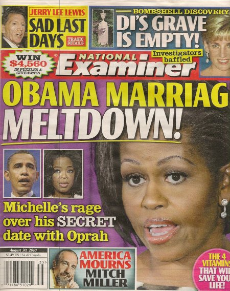 Obama affair with Oprah