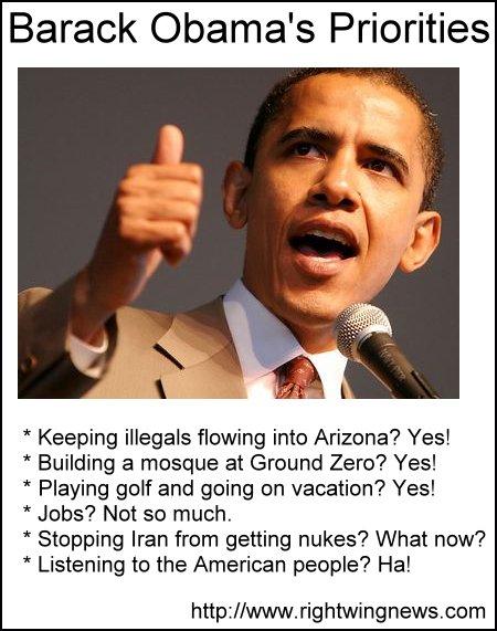 Barack Obama's Priorities