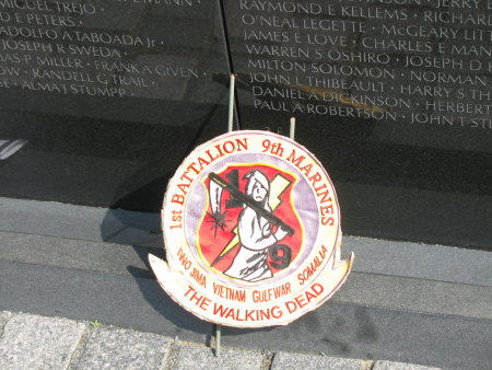 From the Vietnam Memorial. Even in that crush of people, it was a powerful feeling walking past it.