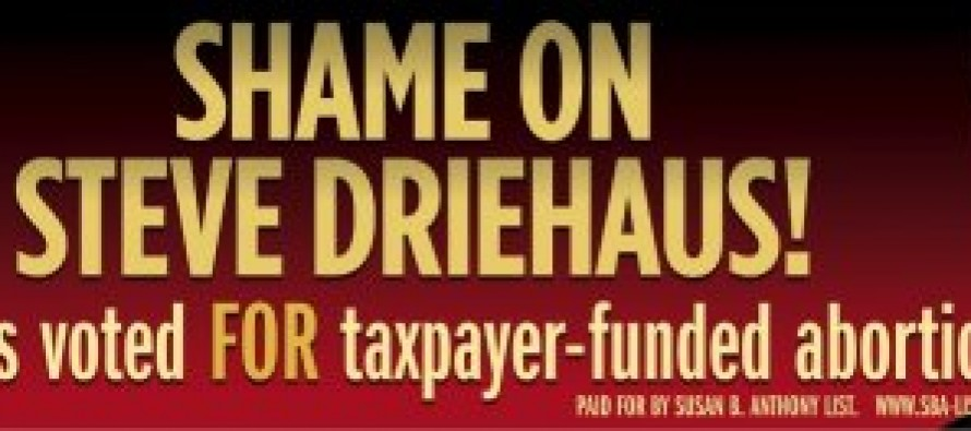 The Billboard That Steve Driehaus (D-Abortion) Doesn't Want You To See