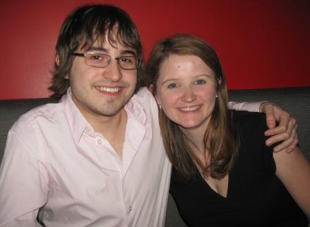 Aaron Marks and Abby Alger