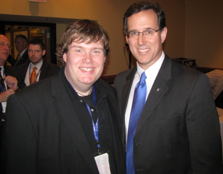 John Hawkins and Rick Santorum
