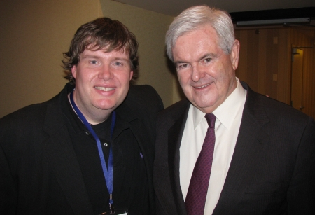John Hawkins and Newt Gingrich