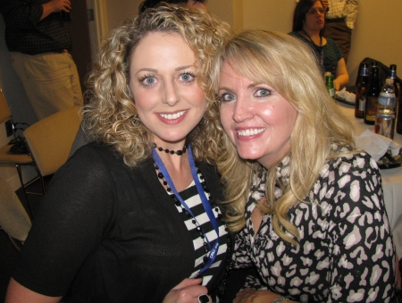 Kristinna Ribali and Kathleen McKinley