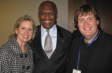 Renee Ellmers, Herman Cain, John Hawkins