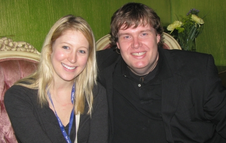 Elissa Stautner and John Hawkins