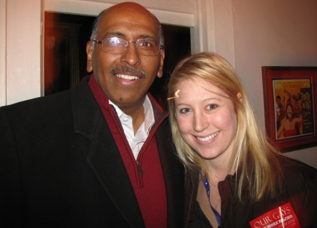 Michael Steele and Elissa Stautner