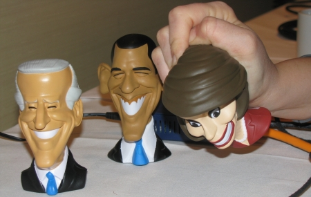 Obama, Pelosi, or Biden stress ball