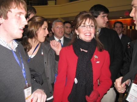Sarah Palin impersonator