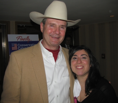 Dale Peterson and Dina Fraioli