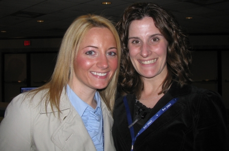 April Gregory and Tricia Grannis
