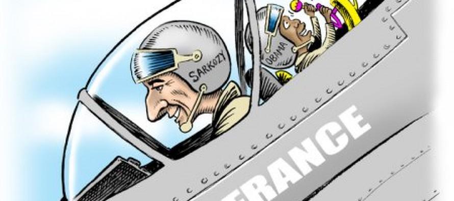 Cartoon: The Allies Attack Gaddafi