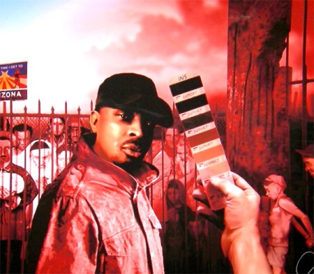 Chuck D. Arizona Painting