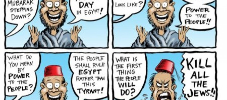 Cartoon: A New Day In Egypt
