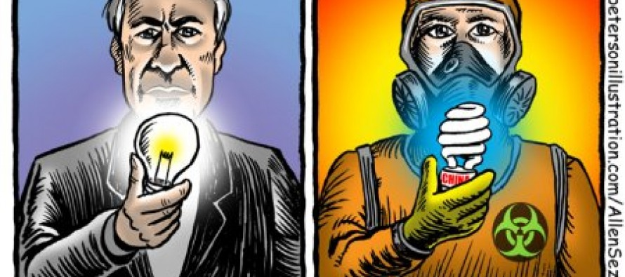 Cartoon: Lightbulbs: Then And Now