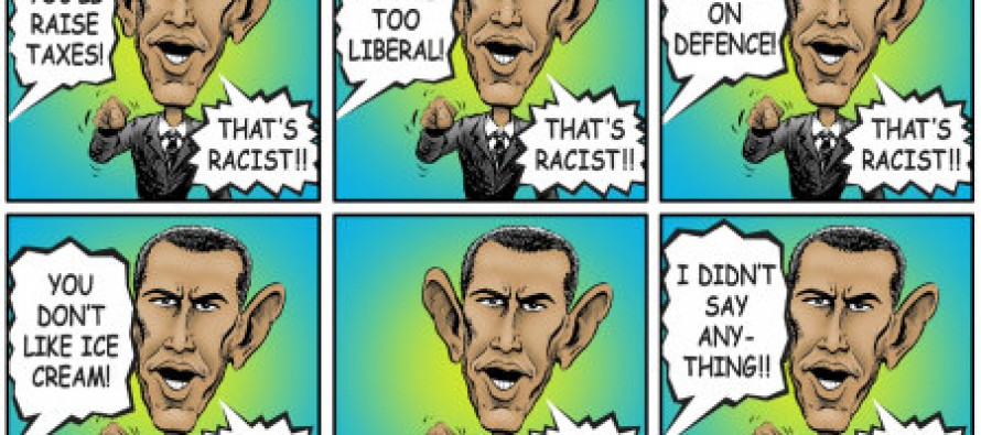 Cartoon: Obama That's Racist