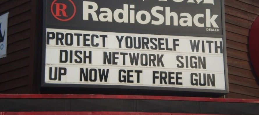 You Can Pry My Free Dish Network Shotgun From My Cold, Dead Hands