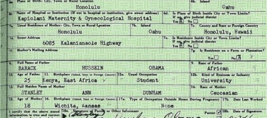 Liberals Explain Why Obama Took So Long To Release The Birth Certificate