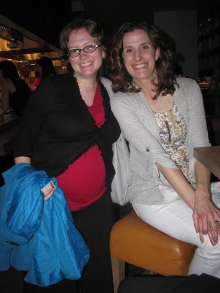 Allie Duzett and Tricia Grannis