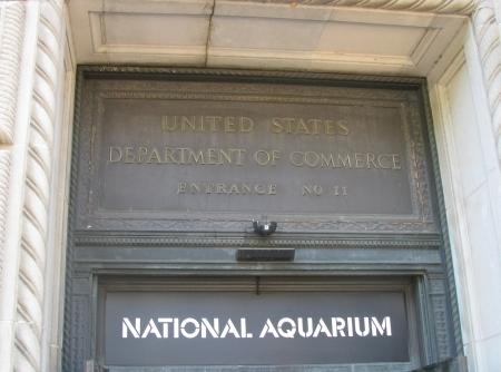 Commerce Department / National Aquarium