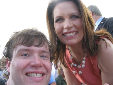 John Hawkins and Michele Bachmann