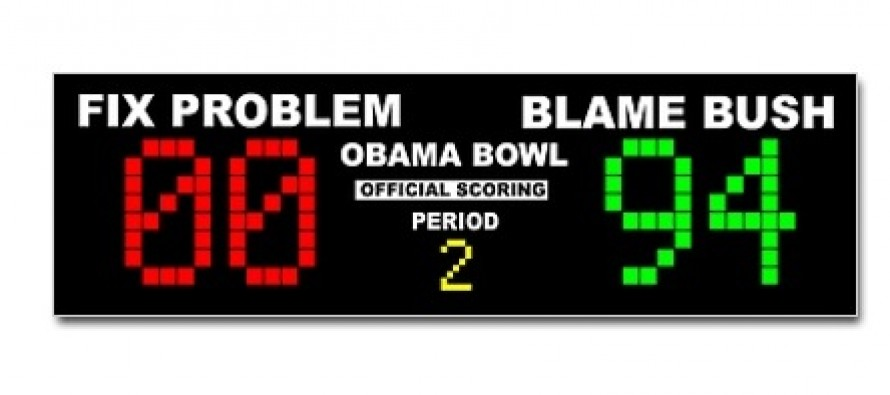 Bumper Sticker: Blame Bush Vs. Fix The Problem