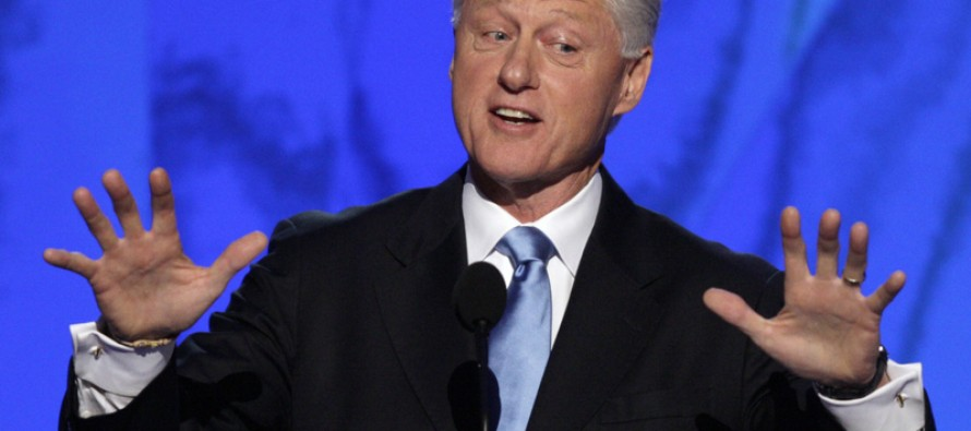 Speaking of Sexual Misconduct, How About Bill Clinton and the Lolita Express?