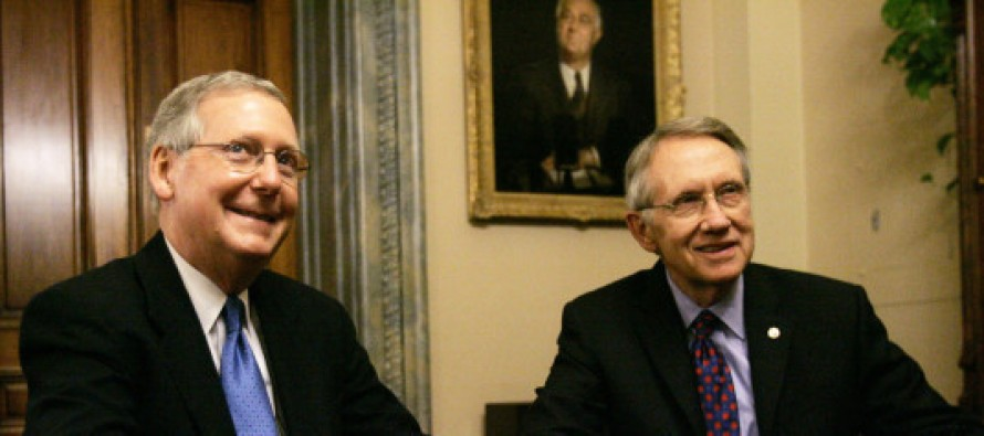 Is Harry Reid Saving Mitch McConnell From Himself?