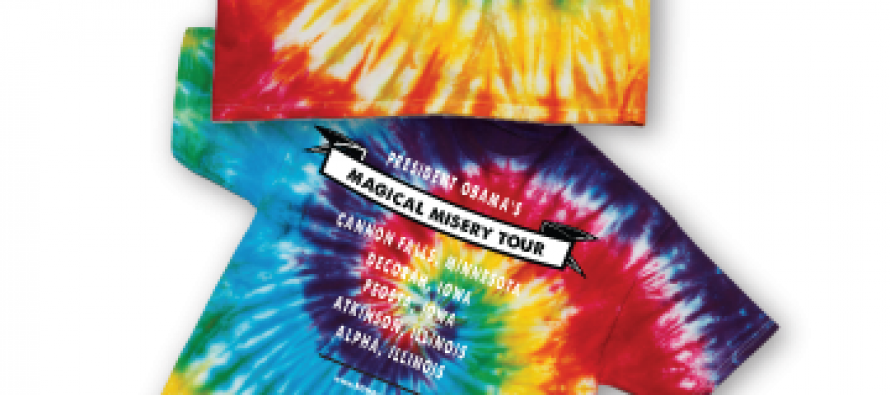 Romney's Obama Magical Mystery Misery Tour T-Shirts