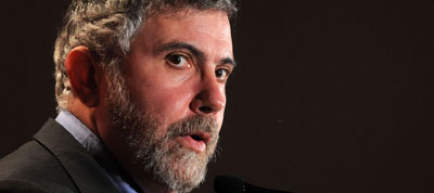 Paul Krugman Wants To Hold America Hostage?
