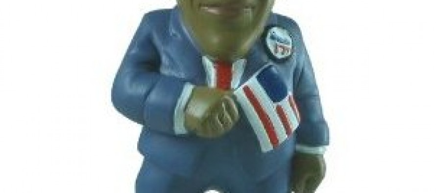 Is This Soon To Be The World's Most Controversial Garden Gnome? The Obama Garden Gnome