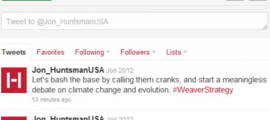 Huntsman Staffers Vent About How Much They Don't Like John Weaver On Twitter (Updated)