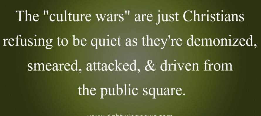 The Culture Wars (Pic/Quote)