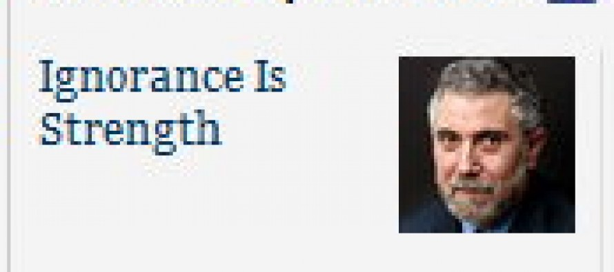 Paul Krugman's Entire Career Summed Up In A Single, Very Real New York Times Screenshot (Pic)
