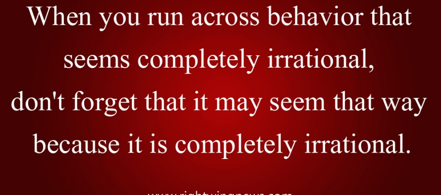 When You Run Across Behavior That Seems To Be Completely Irrational (Hawkins' Quote/Pic)