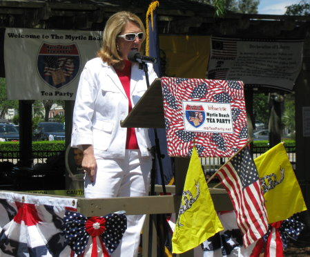 My Speech At The April 14, 2012 Myrtle Beach Tea Party | Right Wing News