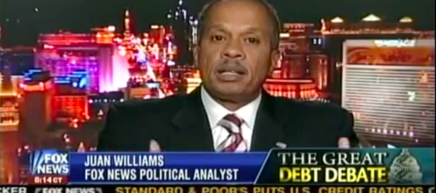 "Juan Williams Insists He Isn't Liberal, Just a ""Foil"""